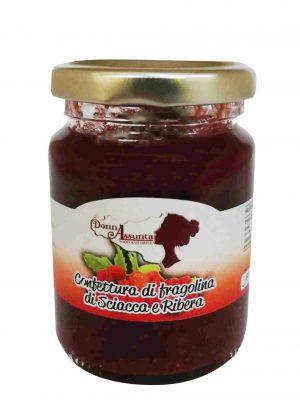 Confetture fragoline di Sciacca e Ribera