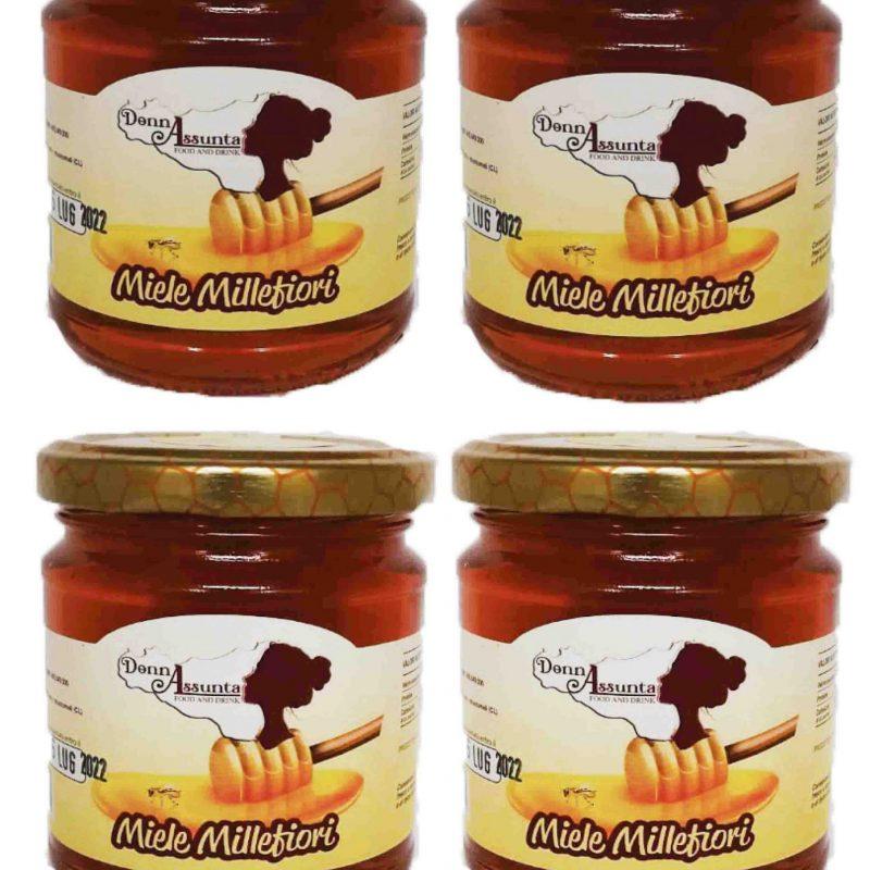 Wildflower honey x 4
