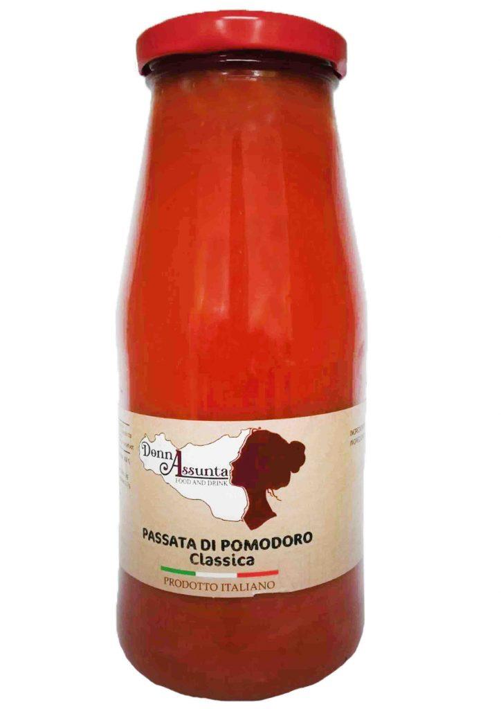 Salsa e passata di pomodoro tipica siciliana