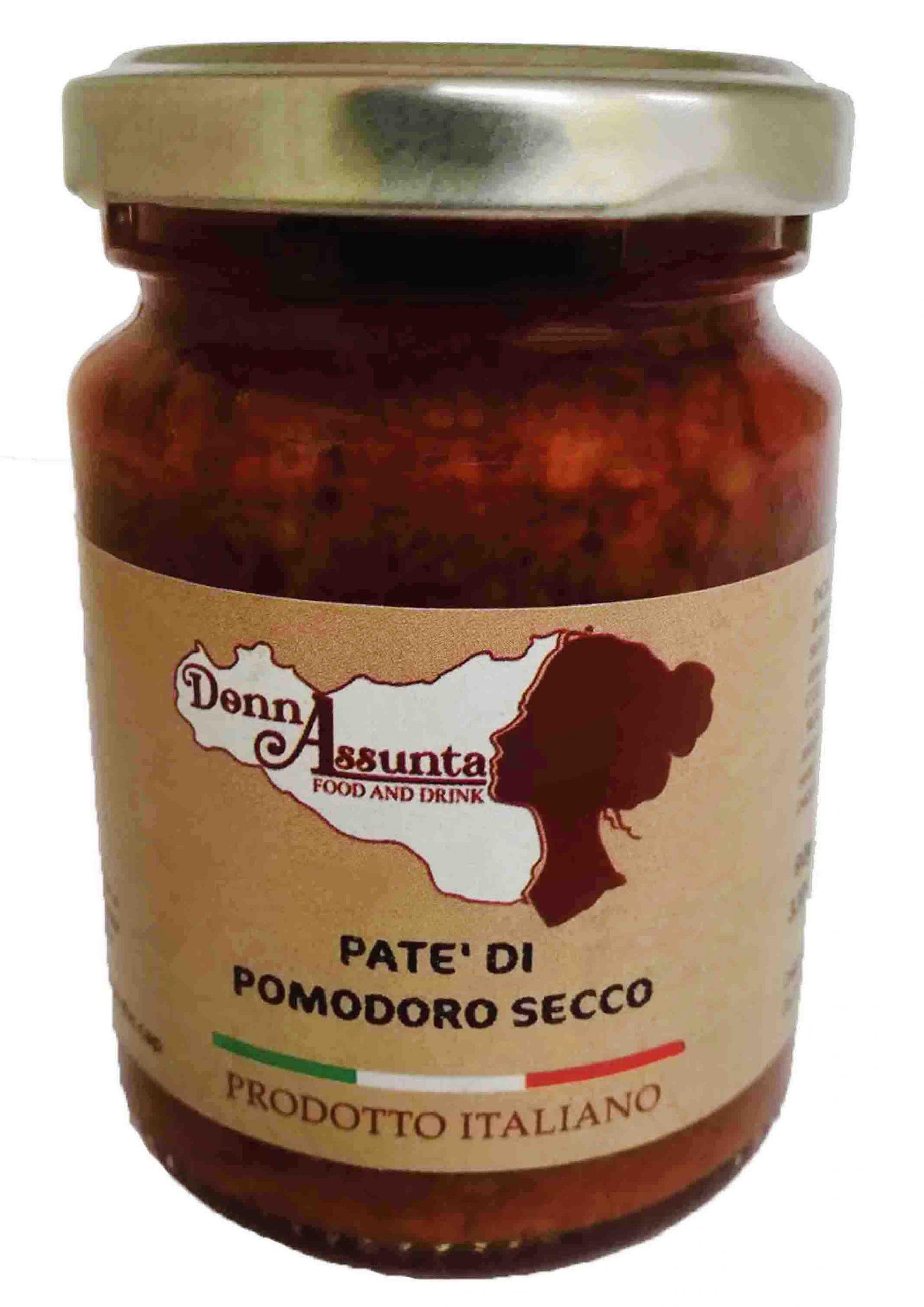 paté di pomodoro secco siciliano