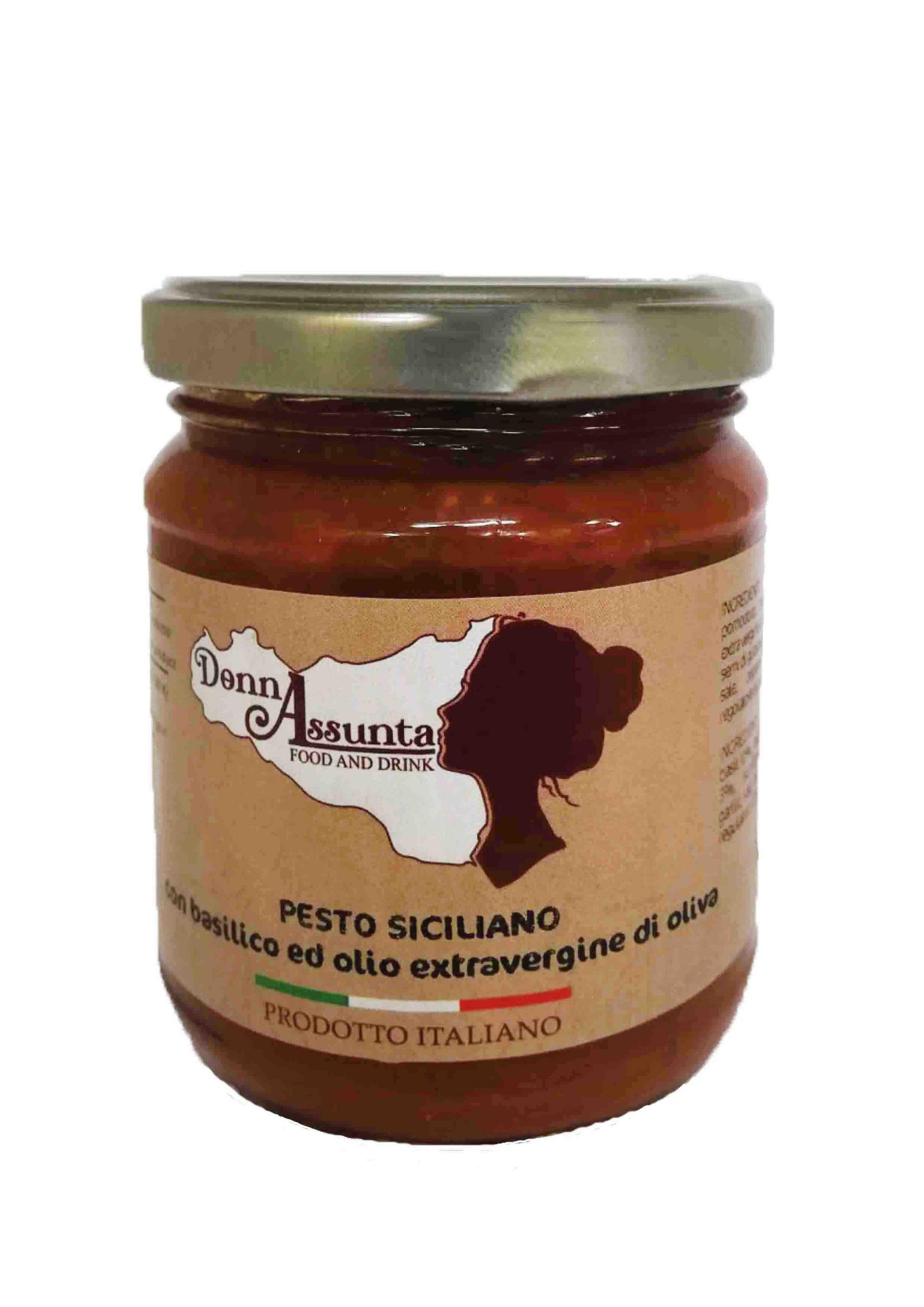 Vendita pesto tipico Siciliano